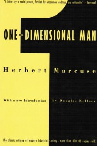 Book cover, One Dimensional Man