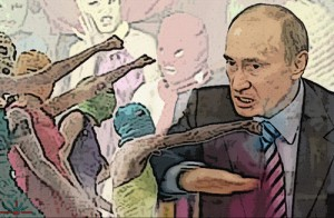 Pussy Riot Putin by AK Rockerfeller on Flickr